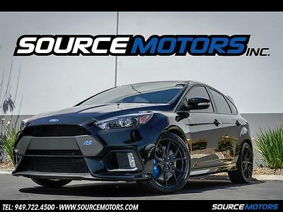 """2016 Ford Focus RS 2016 Ford Focus RS 19"""" Wheels, RS2 Package, Navigation, Brembo Brakes, 140 Miles"""