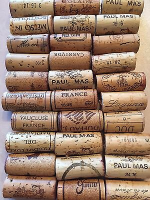 Wine Corks 30 Pieces Lot All Natural!