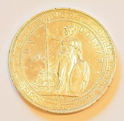 CHINA GREAT BRITAIN. Trade Dollar, 1897 Silver Coin