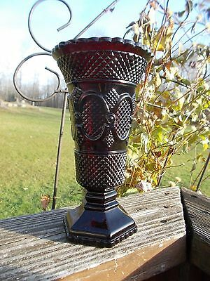 Avon 1876 Cape Cod Rudy Red Collection Large Vase
