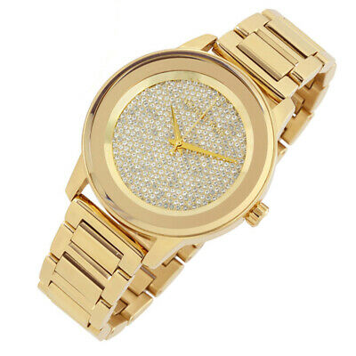 f71b32d2cd0e 100% New Michael Kors 41.5mm Kinley Pave Gold Tone Ladies Women s Watch  MK6209