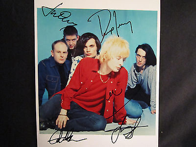 Fully signed Radiohead 1994 promotional picture - (extremely rare)