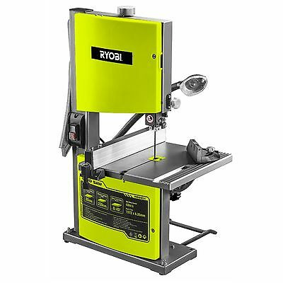 RYOBI 230mm Bandsaw Band Saw Large Cutting Table 350W Motor Work Light 2-YR WTY