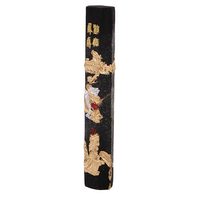 Carved Chinese Calligraphy Dragon Wooden Seal Stamp Inscribe Signet Ornament
