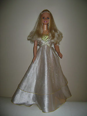 1992 MY SIZE BARBIE DOLL 3 FEET TALL DRESSED in DRESS BLONDE BLUE EYES RARE