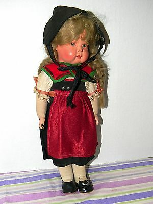 """VERY OLD ANTIQUE  German Germany Celluloid Doll 12"""""""