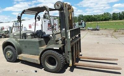 Hyster H60C Forklift 6000Lb Side Shift, Fork Positioned 2582Hrs**priced To Sell*