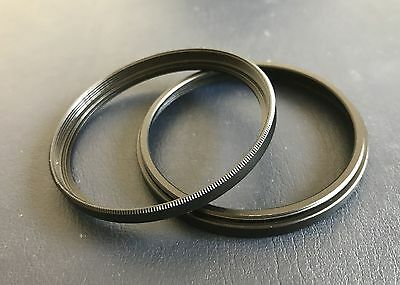 67-67 Step Spacer tube filter extension ring Adapter male female 67mm Pack of 2