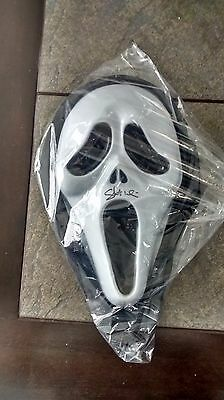 Scream mask autograph by skeet ulrich (ghostface) Bam Box exclusive with COA