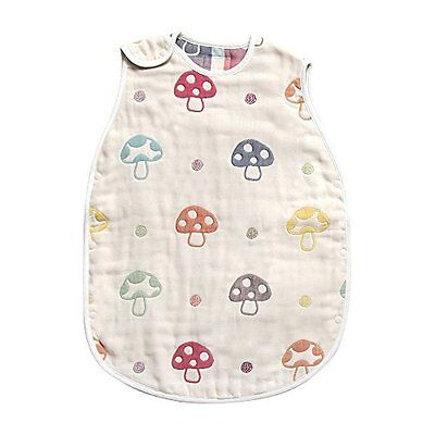 Hoppetta Hoppetta champignon 6 double gauze Sleeper Kids size 7240 Japan new.