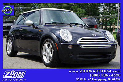 2006 Mini Cooper Base Hatchback 2-Door In Stock 2 dr Coupe Manual Gasoline 1.6L 4 Cyl Astro Black Metallic