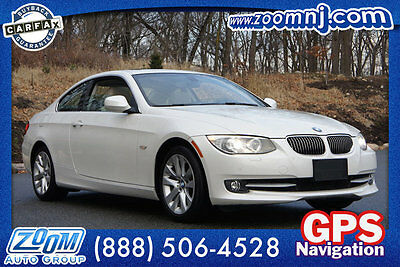 2013 BMW 3-Series 328i xDrive 328i xDrive 3 Series 2 dr Coupe Automatic Gasoline 3.0L STRAIGHT 6 Cyl Alpine Wh