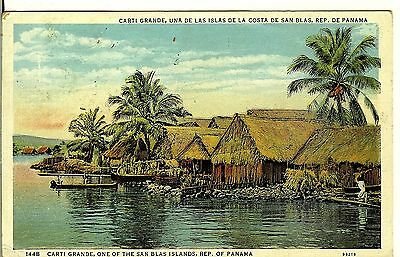 Panama, Carti Grande, One of the San Blas Islands, c1920