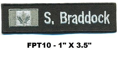 Flashpoint T.v. Show Nametape Patch- Braddock - Fpt10