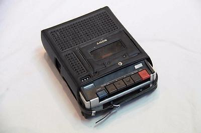 Vintage Sony Cassette-Corder TC-92 with cover case #12353