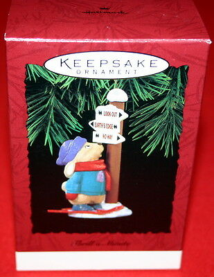 Hallmark Ornament 1994 Thrill A Minute-----Skier