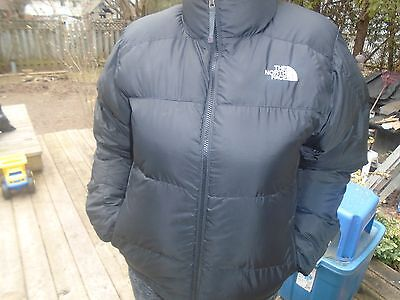 NWT The North Face New $250.00 Men Black Ablation 550 Down Jacket Size M