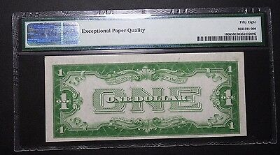 FUNNYBACK 1934 One Dollar $1.00 PMG AU58 EPQ EXCEPTIONAL PAPER QUALITY Funny Bac