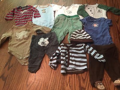 Baby Boy 0-3 Months Clothing Lot