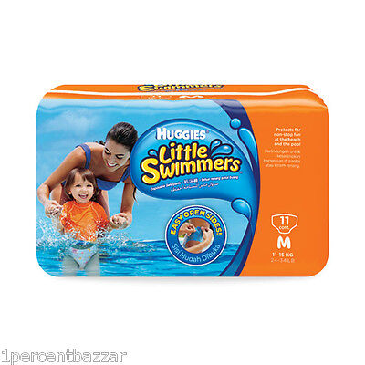 Huggies Little Swimmers Swimpants Medium 11 Counts for boys and girls 11- 15 kg