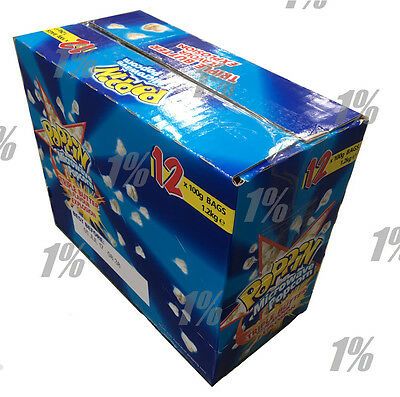 Poppin Microwave Popcorn Triple Butter Flavour Explosion 12 x 100g