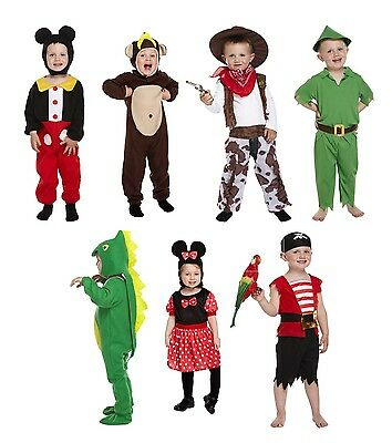 Toddler Fancy Dress Up Kids Children Complete Outfit 2-3 Years Old Party Boys