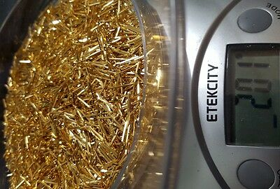 200  grams of connectors pins  scrap for gold recovery  ..