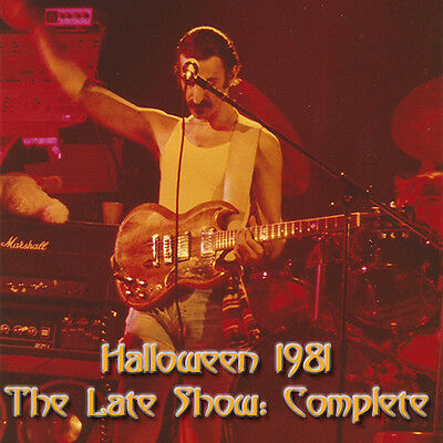 Frank Zappa - Halloween Complete - 1981 Late Show with Steve Vai - RARE LIVE DVD