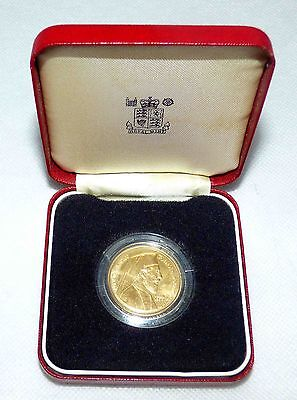 CYPRUS SOVEREIGN 50 POUND GOLD COIN 1977 Archbishop Makarios RARE COLLECTABLE