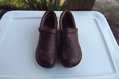 Born B.O.C Womens Size 6.5 M (37 Eur) Brown Leather Loafers