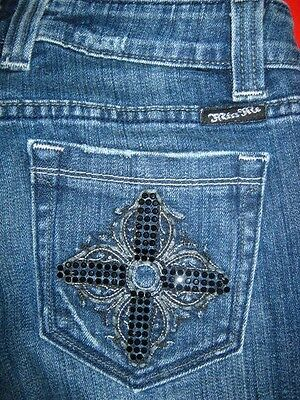 WOMENS MISS ME JEANS SIZE 26 x 32  BOOTCUT