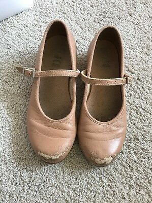girls Bloch tap shoes 11.5