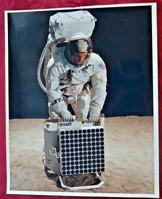 RARE NASA Apollo Laser Ranging Retro-Reflector PHOTO Original A Kodak Paper