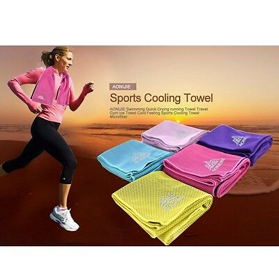 Instant Cooling Towel Sports Gym Towel Drying Sweat Baby Absorb Dry Summer