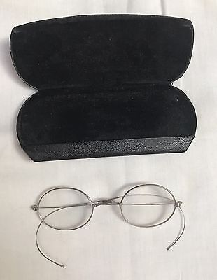 antique spectacles eyeglasses With Case