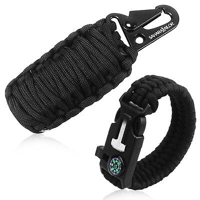 Paracord Parachute Cord Buckle Outdoor Survival Grenade Kit for Hiking Camping