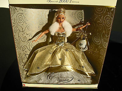 Celebration Barbie Special 2000 Millennium  Edition New in Box Gold Collectors!!