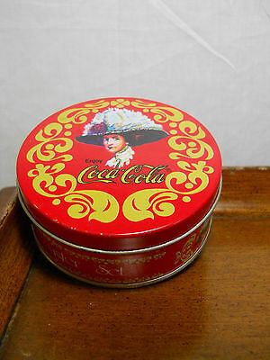 Coca Cola Bottle Cap Coasters Vintage Set of Six With Box