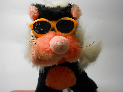 COOL 1991 Liberty Toys Stuffed Plush Cool Cat with Shades Cool shades
