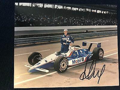Paul Tracy Indy 500 Signed 8 X 10 Photo  Autographed Indianapolis
