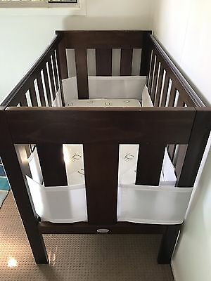 Cot/Junior Bed With Mattress And Linen