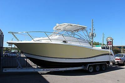 Pro Line 32 Express 2005 Fishing Cruiser Cabin Boat Saltwater Pro-Line Off Shore