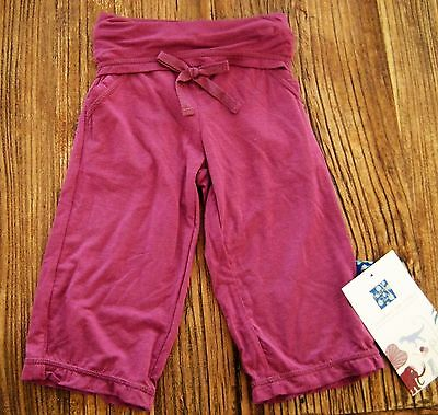 NWT New Kickee Pants Solid Amethyst Yoga Pants Purple Bamboo 3-6 mos