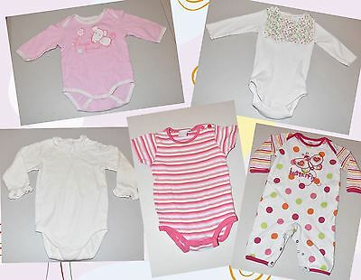 Baby Girl Clothing - Size 0/00 - One Piece Jumpsuits (5 Items) - EUC
