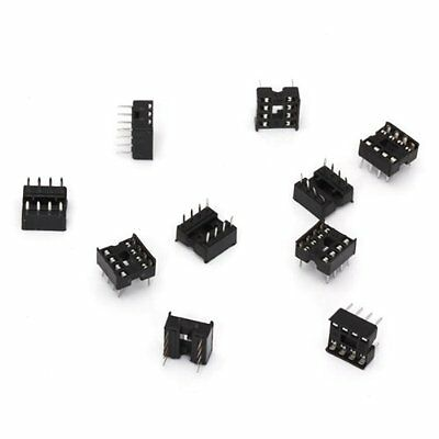10 PCS 8 Pin DIP IC Socket Adapter SH U8O3 S6J1 E1S8
