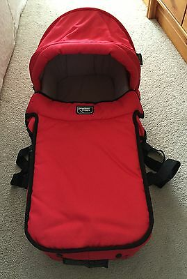 Mountain buggy carrycot made in N.Z. For Double Or Triple Urban/Terrain Buggy