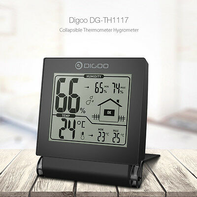 Digoo Digital Hygrometer Temperature Humidity Weather Monitor FAST SHIPPING US