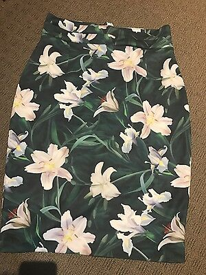 vesper floral skirt size 16 in great condition gorgeous