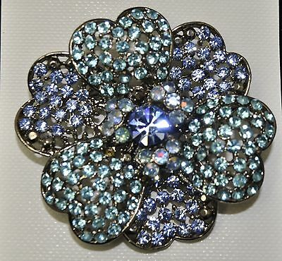 Vintage Flower Style Brooches bule/Aq/Ab multi color high-quality Bouquet gift