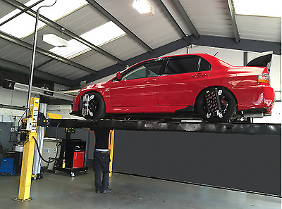 3d John Bean wheel alignment